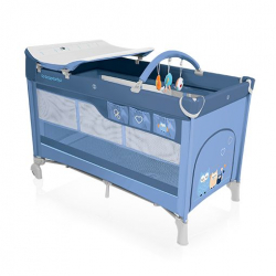 Baby Design Cestovní postýlka Dream - 03 modrá