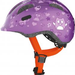Helma ABUS Smiley Purple veľkosť M 50-55 cm