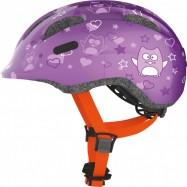Helma ABUS Smiley Purple velikost S 45-50 cm