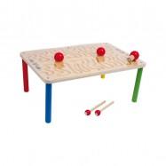 Dřevěná motorická hra - Stůl Hra s magnety