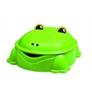 Pískoviště žába zelené s víkem