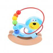 Bigjigs - Piesekna biegunach - pętla motoryczna dla dzieci