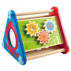 HAPE drevené hračky - drevený motorický box