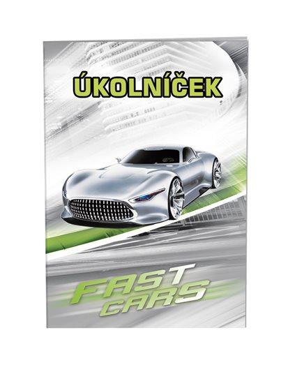 Úkolníček Fast Cars - STIL