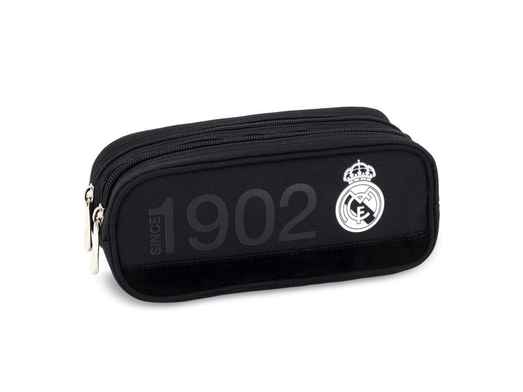 Peračník Real Madrid oválny 2zip čierny