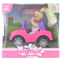 Lalka z autko