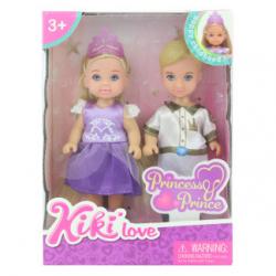 Lalka księżniczka z księciem