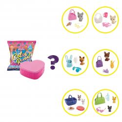 Barbie Color reveal Zvieratká vlna 1 GPD25