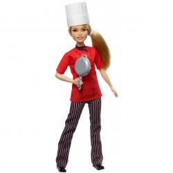 Barbie První povolání - šéfkuchařka o/s FXN99