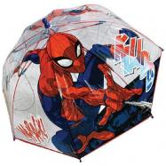 Dáždnik Spider-man priehľadný