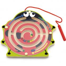 Biedronka drewniany labirynt magnetyczny
