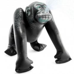 Nadmuchiwany goryl z opryskiwaczem