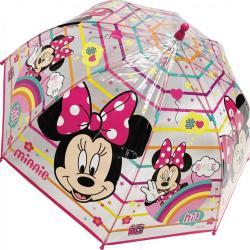 Przezroczysty parasol Minnie