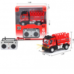 R / C Mini Fire Truck / Technical Vehicle 1:64