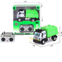 R / C Mini Serwis techniczny / śmieciarka 1:64