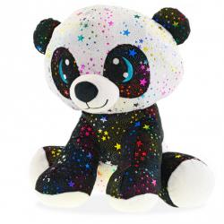 Panda Star Sparkle plyšová 24cm sediaci 0m+ v sáčku