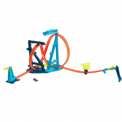 Hot Wheels Track Builder Pętla Megatransformacja Mattel