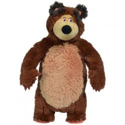 Máša a medveď Medveď Miško Shake & Sound, 43 cm