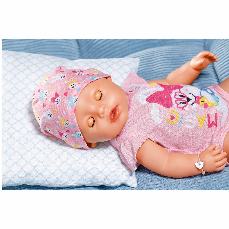BABY born s kouzelným dudlíkem, holčička, 43 cm
