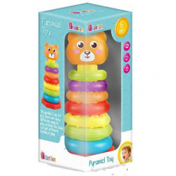 BAM BAM Pyramída medveď