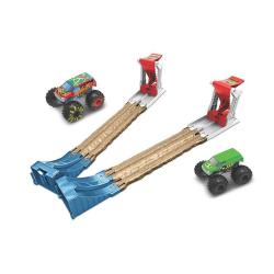 Hot Wheels Monster Trucks zestaw do podwójnego zniszczenia