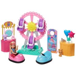 Barbie zestaw lalka Chelsea i Wesołe Miasteczko