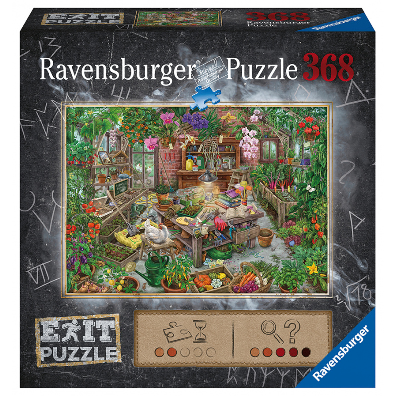 Exit Puzzle: Greenhouse 368 sztuk