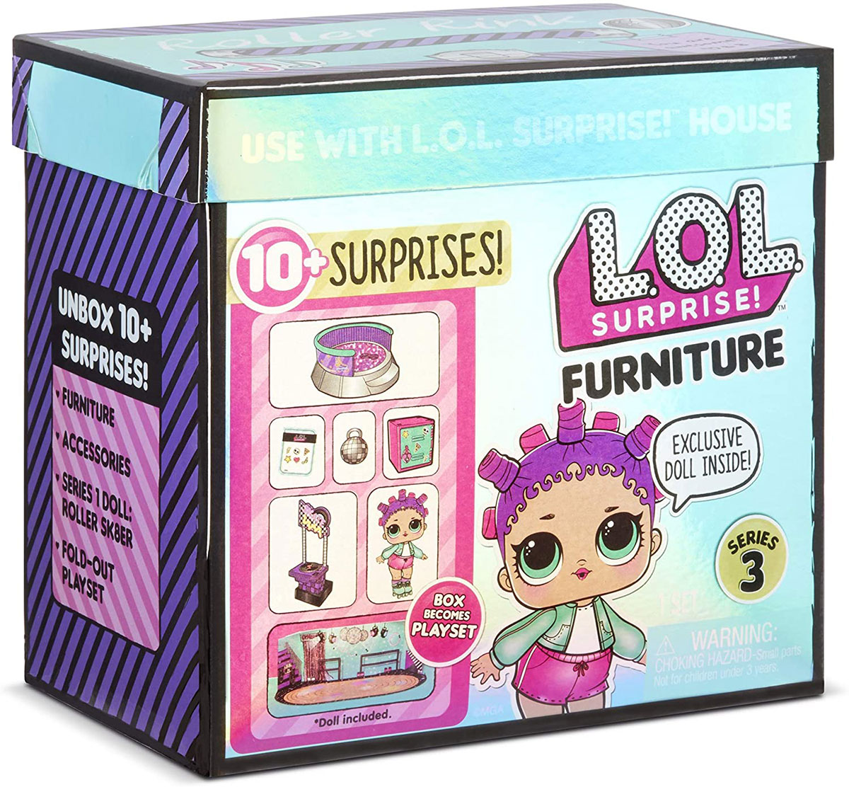 LOL Surprise! Meble dla lalek - Skating Park & Roller S