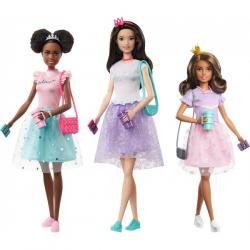 Barbie Przygody Księżniczek Lalki GML68, mix wzorów