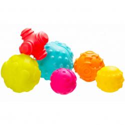 Playgro - Štruktúrované loptičky pre rozvoj motoriky