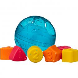 Playgro - Vkladacie loptička s tvarmi