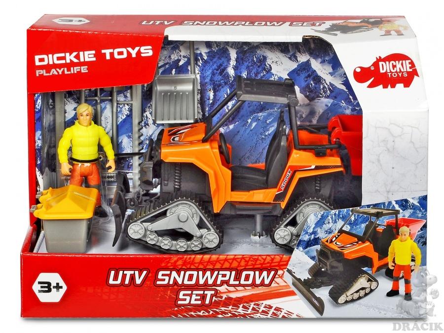Pług śnieżny UTV 21 cm