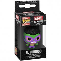 Brelok Funko POP: Marvel Luchadores- Hulk