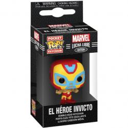 Brelok Funko POP: Marvel Luchadores - Iron Man