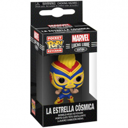 Brelok Funko POP: Marvel Luchadores - Captain Marvel