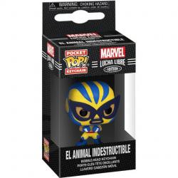 Brelok Funko POP: Marvel Luchadores- Wolverine