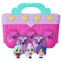 Hatchimals Mini Pixies bábiky 4 ks v kufríku