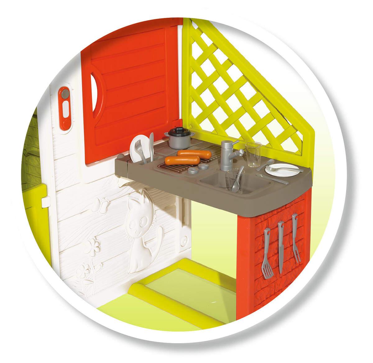 Domeček Neo Friends House s kuchyní rozšiřitelný