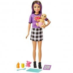 Barbie opatrovateľka skipper a bábätko / doplnky