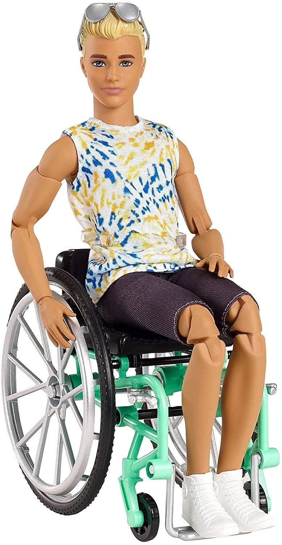 Barbie Model Ken na invalidnom vozíku