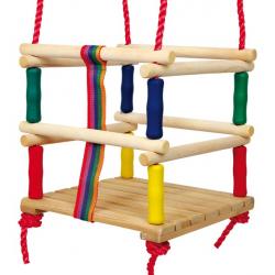 Hojdačka pro malé děti barevná
