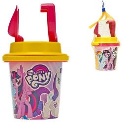 Zestaw do piasku My Little Pony 14cm(zawiera 4 elementy)