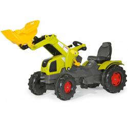Šliapací traktor Farmtrac Claas Axos s predným nakladačom