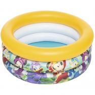 Nafukovací bazén malý - Mickey / Minnie, priemer 70 cm, výška 30 cm