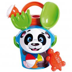 Androni Sada na písek panda s konvičkou - malá