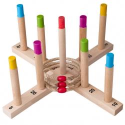 Gra – rzucanie krążków