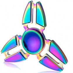 Spinner kovový dúhový Crazy Gyro I