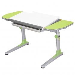 Rastúci stôl Young College Profi bielo zelený