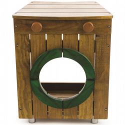 Tidlo drevená záhradná práčka