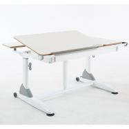 Rastúci detský stôl Roland III biely